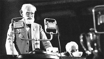 Ivan Pavlov's opening speech