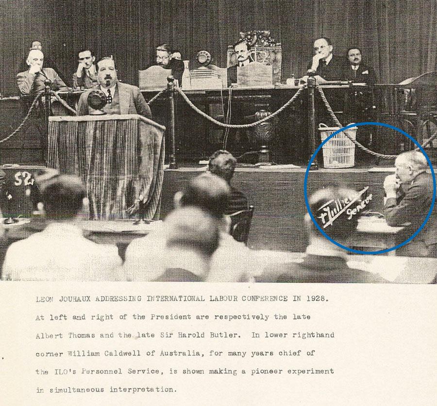 11th Labor Conference in Geneva, 1928
