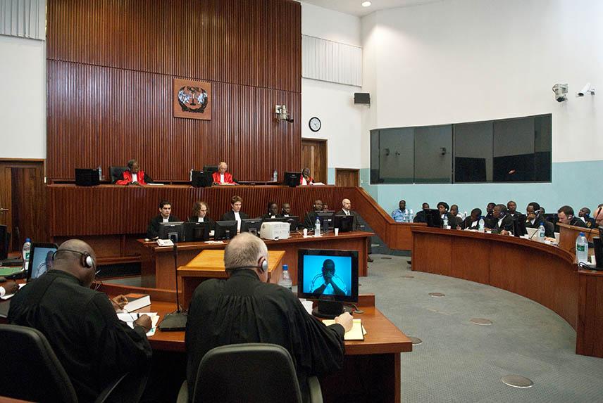 Courtroom SCSL